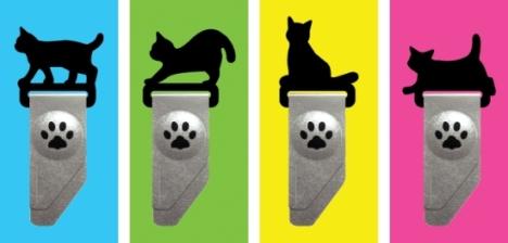 インデックス猫クリップ